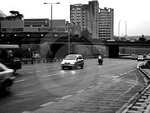 South Woodford Motorway Free Stock Image