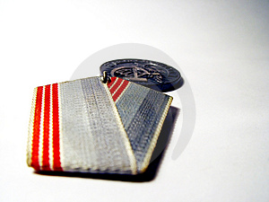 Soviet Medal Free Stock Photo