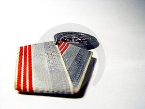 Soviet Medal Free Stock Photo