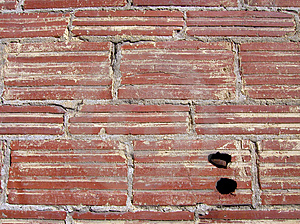 Texture: Brick Wall Free Stock Photography