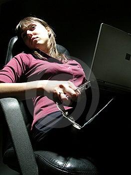 Laptop Portrait Free Stock Images