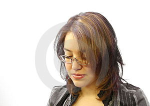 Business Woman 1 Stock Image
