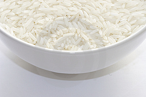 Basmati rice Stock Image