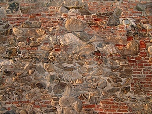 Brick And Rock Texture Stock Image