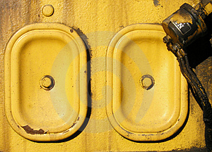 Yellow Mechanical Abstract Free Stock Images