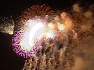Fireworks 2 Stock Photo