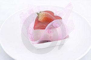 Heart-shaped Cake 2 Stock Photo