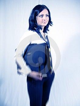 Portrait de bureau Image stock