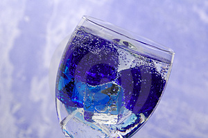 Drink On Ice 2 Free Stock Images