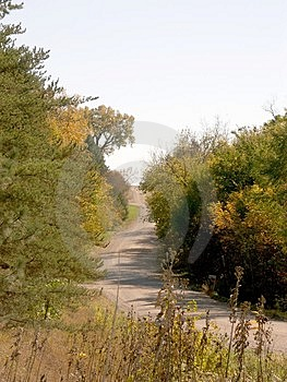 Landstraße 1 Lizenzfreies Stockfoto