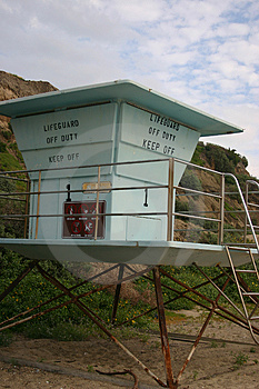 Lifeguard Tower Free Stock Photo