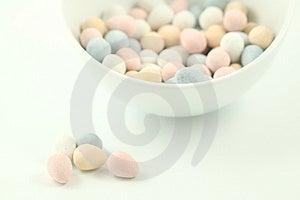 Serie di Pasqua - caramella 2 Immagini Stock