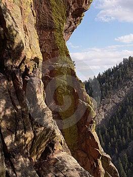 Mountain Side Stock Image