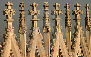 Gothic Architecture Stock Image