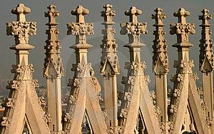Gothic Architecture Stock Image