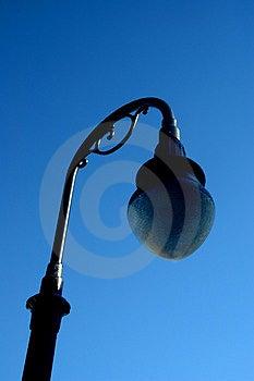 Vintage Street Light Free Stock Photography