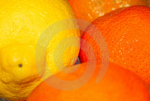 Lemon And Oranges Stock Image