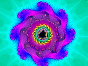 Χρωματισμένο Pinwheel Στοκ Εικόνες