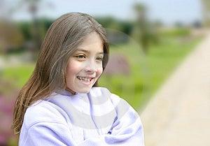 Innocent Smile Stock Photo