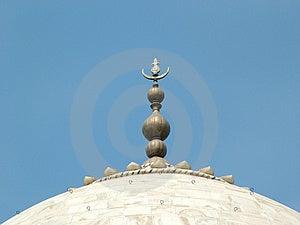 Taj Mahal, Индия Стоковые Фотографии RF
