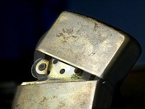 Zippo-Feuerzeug I Lizenzfreie Stockfotografie