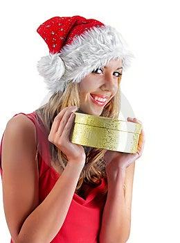Santa Girl Stock Images - Image: 7005744