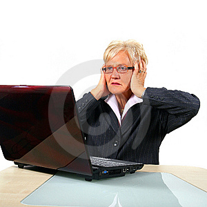 Stressful News Royalty Free Stock Images - Image: 7005949