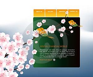 Website Template 89 Stock Image - Image: 7007551