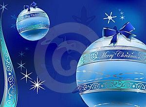 Christmas Glas Balls Decoration Background Stock Image - Image: 7010451