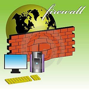 Firewall Royalty Free Stock Image - Image: 7011166
