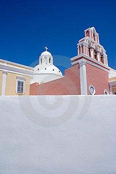 Thira, Santorini, Greece Stock Photos - Image: 7013673