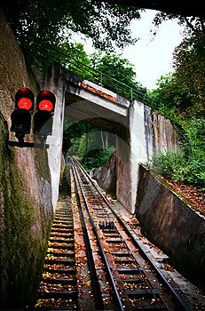 Funicular Railway. Karlovy Vary Royalty Free Stock Photo - Image: 7014725