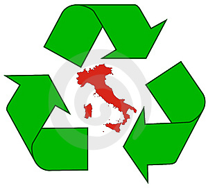 Recycling Italy Royalty Free Stock Image - Image: 7017936