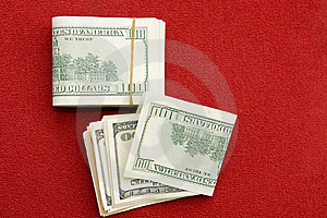 Pile De $100 Factures Photographie stock - Image: 7019042
