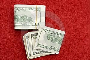Una Pila Di $100 Fatture Fotografia Stock - Immagine: 7019042