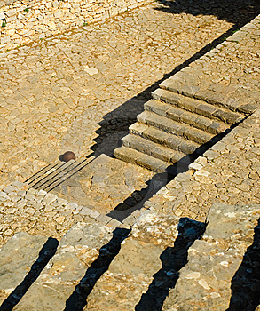 Castle Palamidi Steps, Nafplio, Greece Stock Photo - Image: 7019940