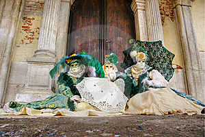 Venice Masks, Carnival. Royalty Free Stock Image - Image: 7021546