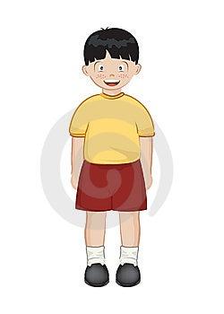 亚裔男孩 库存照片 - 图片: 7023453