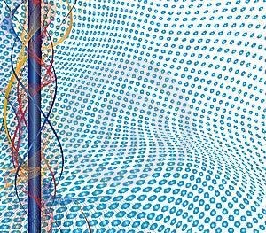 Futuristic Background Stock Photography - Image: 7024242