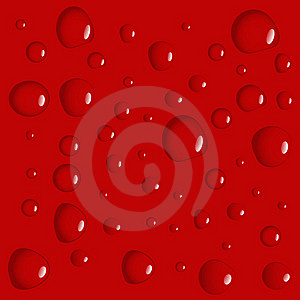 Red Waterdrop Background Royalty Free Stock Photo - Image: 7026665