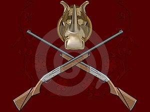 Gun Of Hunting Royalty Free Stock Photos - Image: 7029718