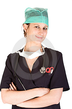 Young Caucasian Female Healthcare Professional Stock Photography - Image: 7029992