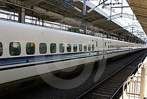 Shinkansen Royalty Free Stock Images - Image: 7031849