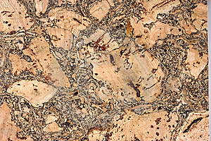 Cork Texture Stock Photo - Image: 7036340