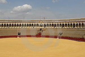 Sevilla's Arena Royalty Free Stock Image - Image: 7036736