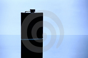 Flask For Cognac Royalty Free Stock Images - Image: 7038079