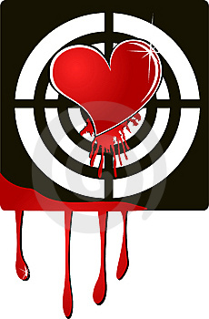 Target Heart Stock Photos - Image: 7042493