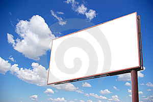Billboard Stock Photo - Image: 7042820