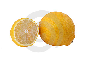 Fresh lemon Royalty Free Stock Photography
