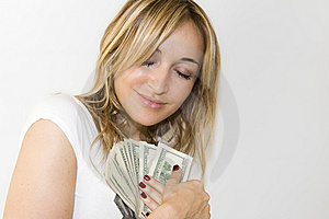 Handover The Money Stock Image - Image: 7046251
